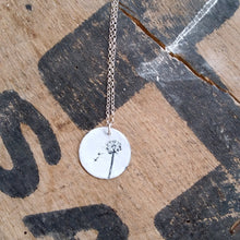 Load image into Gallery viewer, Lili Wen Fach / Snowdrop necklace by Buddug
