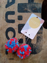 Load image into Gallery viewer, Pom pom earrings