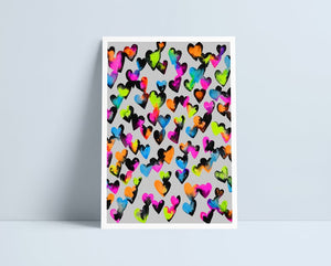 You Melt My Heart print by Niki Pilkington