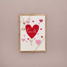 Load image into Gallery viewer, Cardiau Santes Dwynwen/San Folant gan Buddug/ Love cards by Buddug