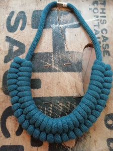 Elspeth rope necklace by Beth Pegler