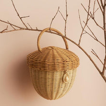 Load image into Gallery viewer, Rattan Acorn House by Olliella