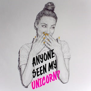 Anyone Seen my Unicorn A4 print by Niki Pilkingon