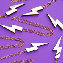 Load image into Gallery viewer, Lightening Bolt Necklaces