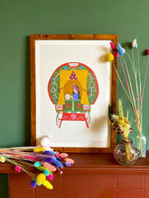 Load image into Gallery viewer, Gypsy Fortune Teller print by Hutch Cassidy