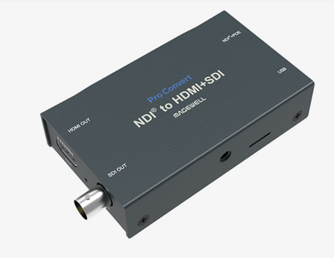 Magewell Pro Convert for NDI to HDMI 4K (AIO)
