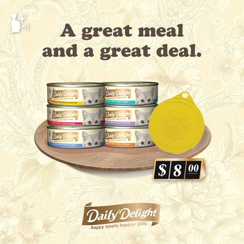 *PROMO* Daily Delight Pure Series Taster Set [FREE CAT FOOD LID]