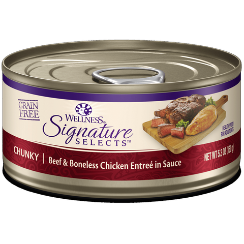 Wellness - CORE® Signature Selects® Chunky Beef & Chicken