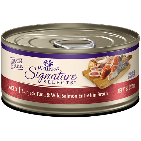 Wellness - CORE® Signature Selects® Flaked Skipjack Tuna & Salmon