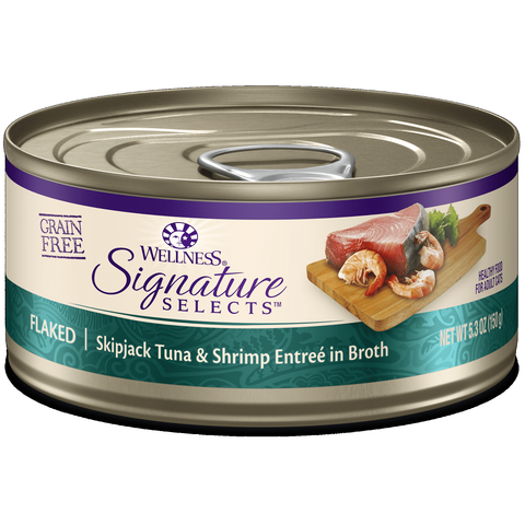 Wellness - CORE® Signature Selects® Flaked Skipjack Tuna & Shrimp