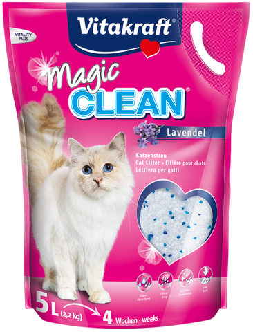 Vitakraft Magic Clean Lavender Cat Litter