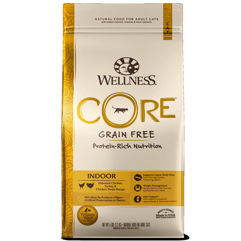 Wellness - CORE® INDOOR Deboned Chicken, Turkey and Chicken Meals