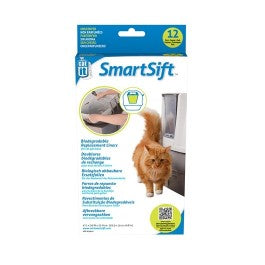 Catit Design SmartSift Biodegradable Replacement Liners 12pc for Cat Pan Base