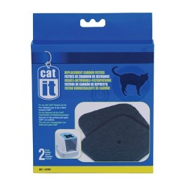Catit Hooded Cat Pan Replacement Carbon Filters, 2-pack