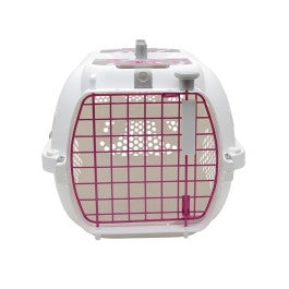 Catit Style Profile Voyageur Cat Carrier - Pink Ribbon, Small