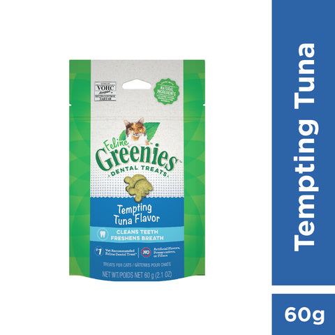 GREENIES Feline Dental Treats Tuna 60g