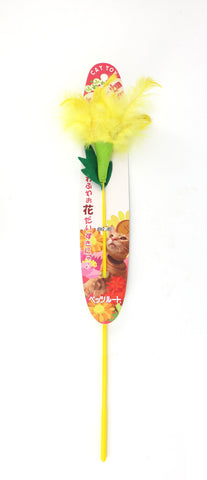 Petz Route - Floral Cat Stick Toy (Marguerite)