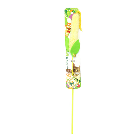 Petz Route -Veggie Cat Stick Toy (Corn)