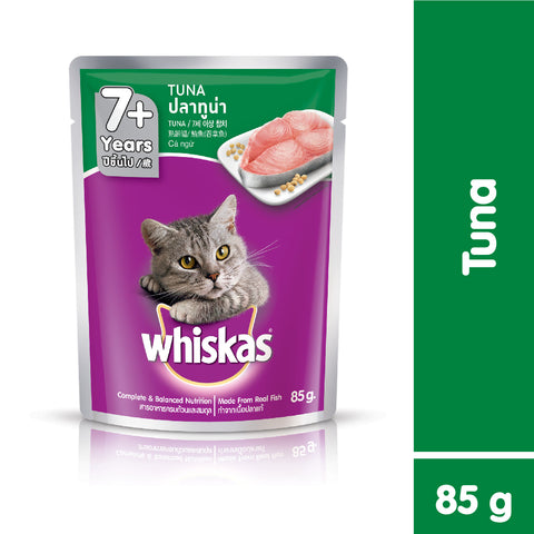 Whiskas Pouch Adult 7+ Tuna 85g