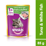 Whiskas Pouch Tuna & White Fish 85g