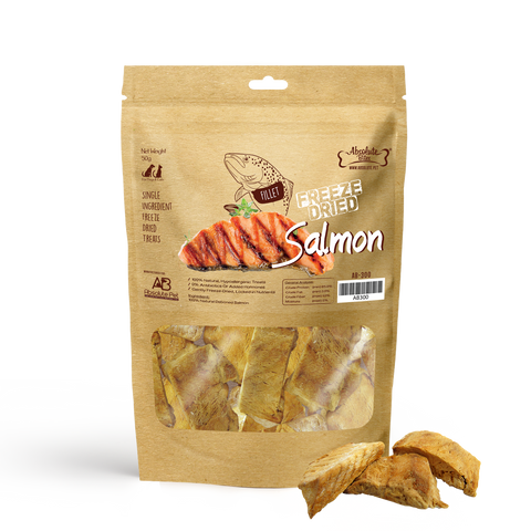 Absolute Bites Freeze Dried Salmon 2oz