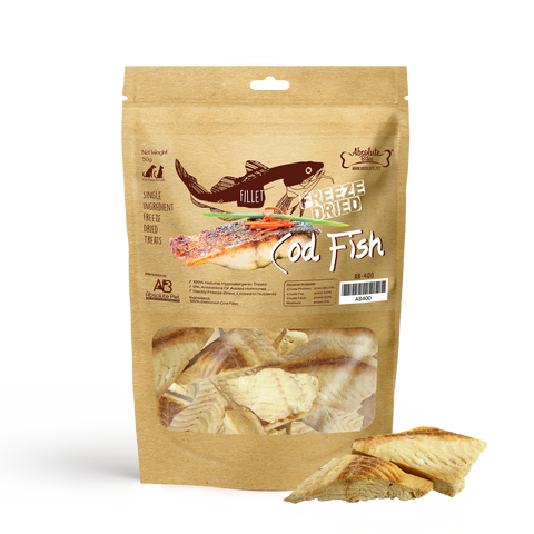 Absolute Bites Freeze Dried Cod Fish 2oz