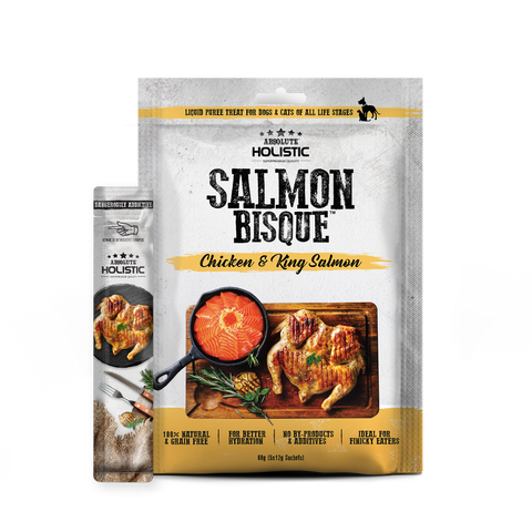 Absolute Holistic Bisque™  Salmon Bisque (Chicken & King Salmon)