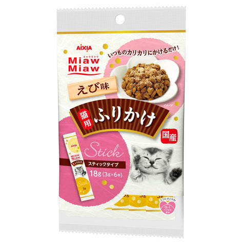 Aixia Miaw Miaw Topping Dried Shrimp 18g