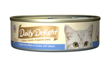 Daily Delight Pure Skipjack Tuna White & Chicken with Salmon