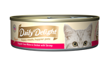 Daily Delight Pure Skipjack Tuna White & Chicken with Shrimp
