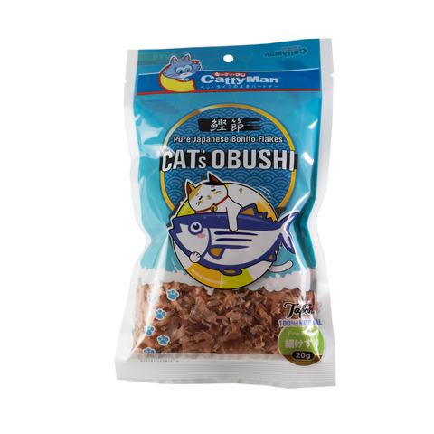 Cattyman CAT's Obushi Pure Japanese Bonito Flakes Fine Cat Treats