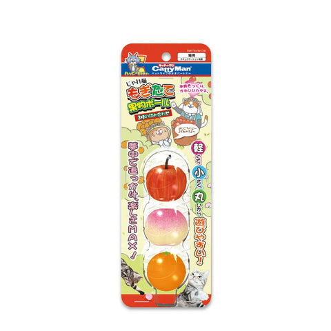 Cattyman Fruits Ball Toy
