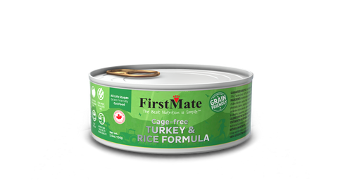FirstMate Grain Friendly  Cage-Free Turky & Rice