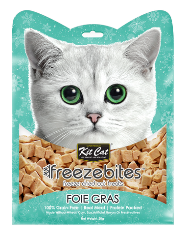 Kit Cat Freeze Bites Cat Treat - Foie Gras