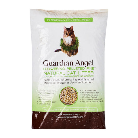 Guardian Angel Pelleted Pine Litter (3 Sizes: 14lbs/25lbs/40lbs)