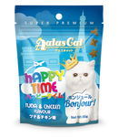 Aatas Cat Happy Time Bonjour Tuna & Chicken Flavour 60g