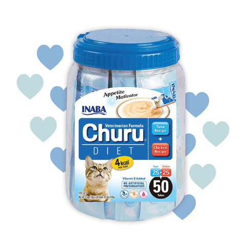 Inaba Churu 50p Diet Mix Pack