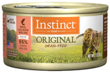 Instinct Original Grain-Free Pate Real Salmon Recipe Canned Cat Food (2 Sizes: 85g/156g)