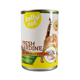 Jollycat Fresh Sardine with Trevally Cutlets 400g