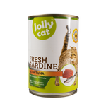 Jollycat Fresh Sardine with Tuna 400g
