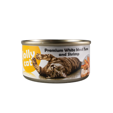 Jollycat Premium White Meat Tuna & Shrimp in Jelly