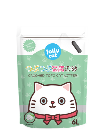 Jollycat Crushed Tofu Litter 6L - Jasmine