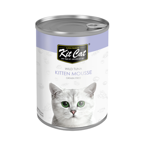 Kit Cat Kitten Mousse Canned Cat Food 400g