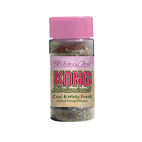 KONG Botanicals Catnip Bottle - Valerian Mint