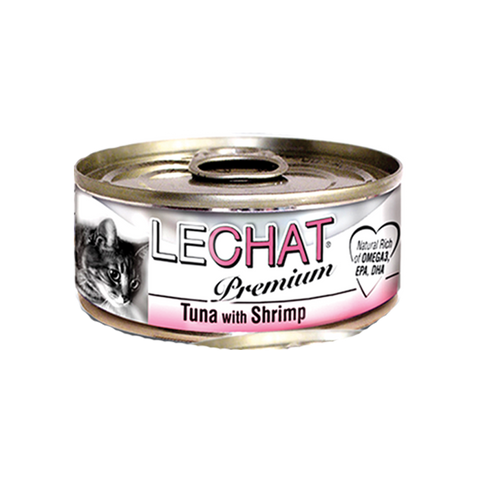 LECHAT Premium - Tuna with Shrimp