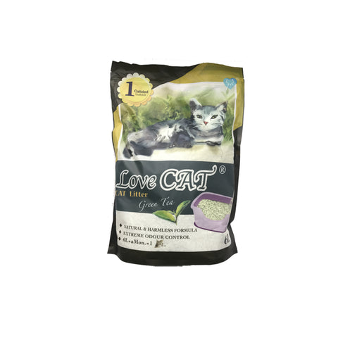 Lovecat Green Tea Cat Litter 6L