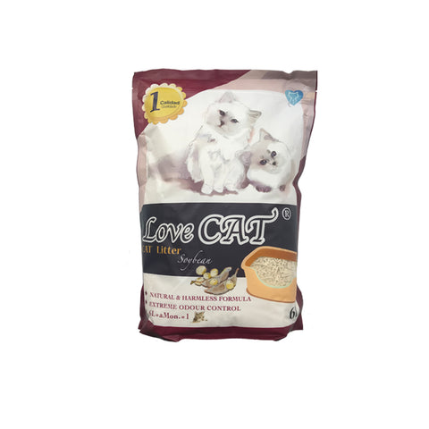 Lovecat Soybean Cat Litter 6L