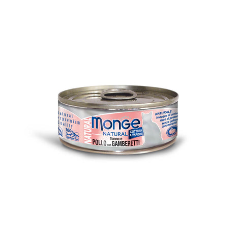 Monge Natural -  Tuna & Chicken with Shrimp
