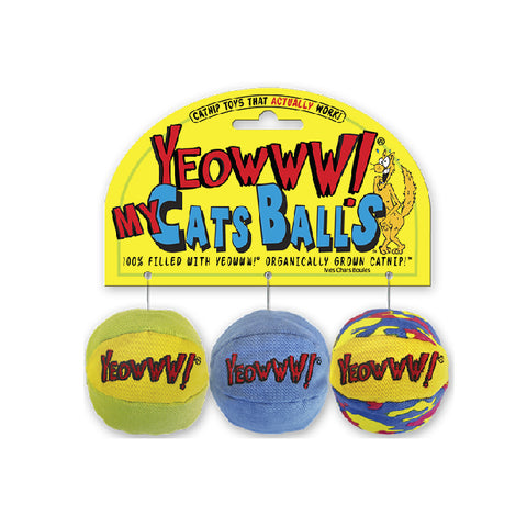 Yeowww! My Cats Balls (3 Balls Set)