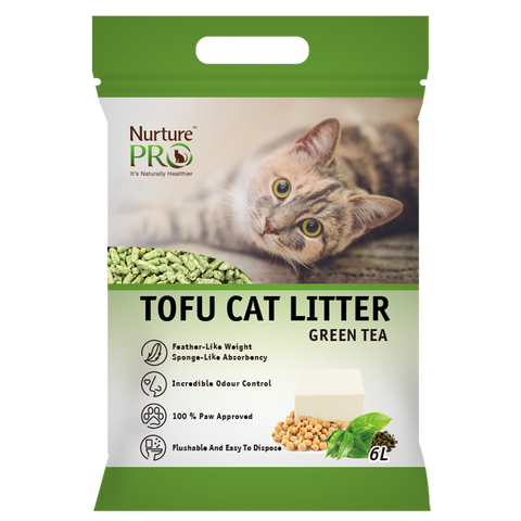 *1 FOR 1* NurturePro Tofu Cat Litter - Green Tea